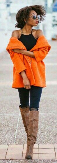 Black & Orange / The Cocopolitan