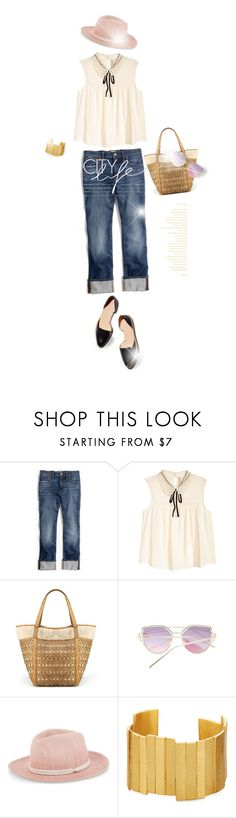 """""""city life"""" by eilselrenrag ❤ liked on Polyvore featuring Madewell, Maje and Stephanie Kantis"""