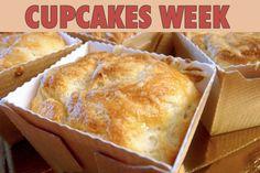 """La recette: Cupcakes soufflés, via le site """"Les Recettes de ma Mère"""" (cupcake,déco,décoration,entrée,halavi,imagination).  http://lesrecettesdemamere.net/recette/cupcake-souffle/"""