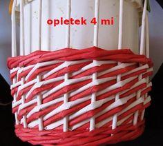 Tutorial - diagonal pattern - Moje pletení z papíru - Fotoalbum - NÁVOD - VZORY PLETENÍ - NÁVOD - NA VZOR VRSTVA