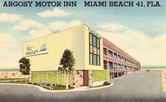 Argosy Motor Inn - Miami Beach,Florida