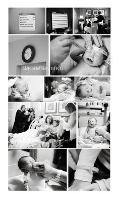 This is precious! Even if you don't want them done during your actual birthing process.. I bet some right after shots would be moments worth capturing ;)
