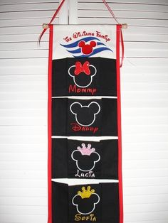 Three Pocket silhouette FE Fish Extender for Disney Cruise Line. $43.95, via Etsy.