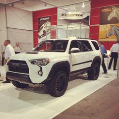 Our 2015 Toyota 4Runner with concept Pocket Style Fender Flares.