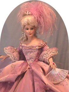 Marie Antoinette, a Porcelain Doll