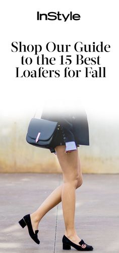 Spice up your fall wardrobe with these must-have loafers | from InStyle.com