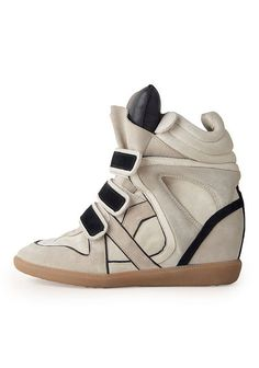 f5028563233 Isabel Marant High Top Sneaker with hidden wedge. I die. Shoe Boots