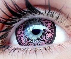 Hello Kitty Contact Lenses: Because Japan.