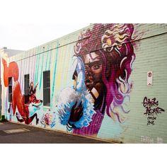 #Mural by gimiksborn #Toowoomba #Australia #Streetart #urbanart #graffiti #art