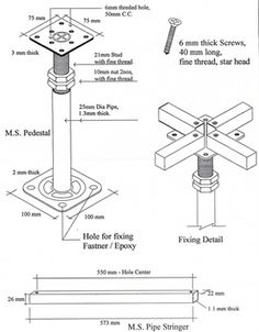 Best Detail Images On Pinterest Engineering Floor Layout And - Raised floor construction detail