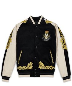 CUTLASS BOMBER - BLACK Zapatillas Jordan Retro, Nike Windrunner Jacket, Designer Jackets For Men, Mens Outdoor Jackets, Cool Jackets, Embroidered Jacket, Suit Fashion, Casual Shirts For Men, Suits For Women