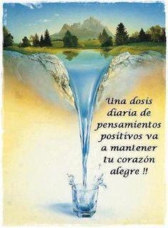 Una buena dosis de pensamientos positivos!