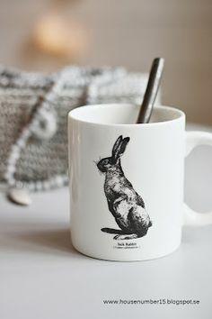 Mug jack rabbit House number 15 via Nat et nature