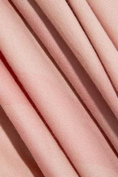 Burberry - Checked Cashmere Scarf - Blush - One size