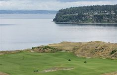 Chambers Bay site of the 2015 U.S. Open