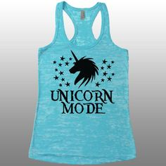 Hey, I found this really awesome Etsy listing at https://www.etsy.com/listing/223576446/cute-workout-tank-top-unicorn-shirt