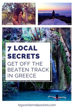 greece travel 7 Local Secrets // How to Get Off the Beaten Track in Greece {Big World Small Pockets} Greece Vacation, Greece Travel, Vacation Spots, Santorini Vacation, Greece Trip, Places To Travel, Places To See, Travel Destinations, Travel Things