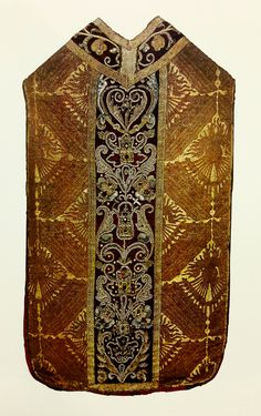 Chasuble made from wedding dress of Bona Sforza by Anonymous from Florence and Poland, before 1518 (PD-art/old), Skarbiec Paulinów na Jasnej Górze