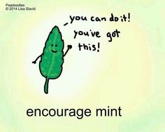 Just a bit of encouragement for the day