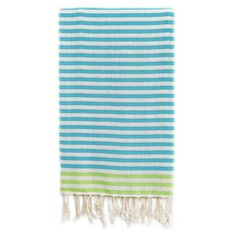 Linum Home Textiles Fun At The Beach Pestemal Beach Towel,