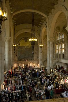 The Brooklyn Flea Market - so amazing!  Love the Market and the Building!!!!!