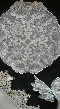 Needle Lace, Animals Beautiful, Crochet, Diy Ideas, Projects, Lace Drawing, Tulle Lace, Sewing Crafts, Crocheting