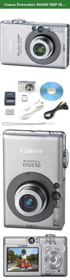 Canon Powershot SD400 5MP Digital Elph Camera with 3x Optical Zoom (OLD MODEL). Canon Powershot SD400 5MP Digital Elph Camera with 3x Optical Zoom.
