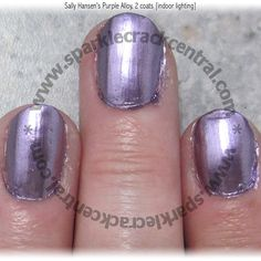 Sally Hansen's Purple Alloy colorfoil