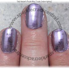 Sally Hansen's Purple Alloy colorfoil