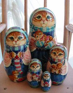 Nesting kitties.