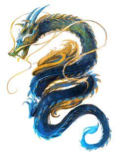 ArtStation - Chinese river dragon, Soojung (Su) Ham