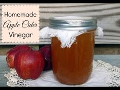 Make Your Own Apple Cider Vinegar 🍎 Simple and Inexpensive 🍎 Homemade Vi... All You Need Is, Just In Case, Kombucha, Homemade Apple Cider Vinegar, How To Make Vinegar, Vinegar With The Mother, Peeling, Fermented Foods, Canning Recipes
