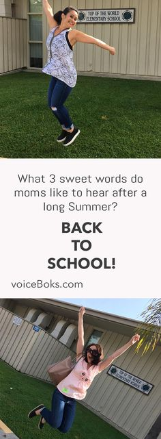 Momlife Is a Great Life Especially When Kids Are Back at School!