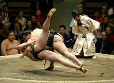 Sumo in Tokyo. Item checked from the bucket list