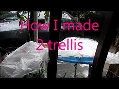 How I made 2 trellis.