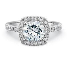 Mann's Jewelers Precision Set Engagement Ring