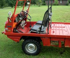 Learn more about Micro Pinz: 1971 Steyr-Puch Haflinger on Bring a Trailer, the home of the best vintage and classic cars online. 1985 Chevy Truck, Chevy Truck Models, Jeep Truck, Custom Trailers, Custom Trucks, Motorized Wheelbarrow, Atv Car, Diy Go Kart, Kombi Home
