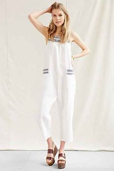 Faircloth Supply Linen Overall - Urban Outfitters