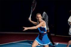 Caroline Wozniacki's Adidas by Stella McCartney dress for US Open 2013
