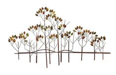 Let a forest grow on your wall with the DecMode Metal Branches Wall Sculpture . Embrace its nature-inspired design, crafted from sturdy iron turned.