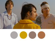 Jack: I wonder if the three of us would've been friends in real life. Not as brothers, but as people. / Wes Anderson Palettes.
