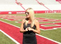 Our favorite football wife, Jen Bielema, takes the ALS challenge!  http://www.gamedayrunway.com/2014/08/als-ice-bucket-challenge/