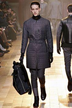 LANVIN Autumn/Winter 2013-2014 Paris Fashion Week, Lucas Ossendrijver and Alber Elbaz always energize their Lanvin menswear collections with power  #4daboyz #delortaeagency #designer #luxury #authentic #shoes #style #fashion #men #catwalk #lanvin