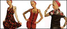 Rockabilly Pin up Punk Clothing