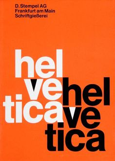 Helvetica isn't good (I'd prefer things like Alte Haas Grotesk) but I love this