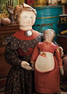 The Blackler Collection (Part 2 of 2-Vol set): 448 American Cloth Folk Doll with Oil-Painted Features