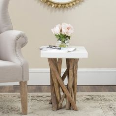 I WANT!!! Safavieh Hartwick Side Table