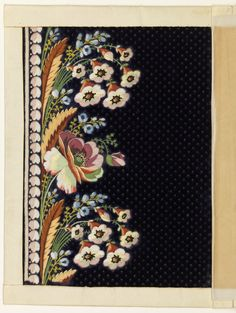 Embroidery Sample, 1780–95