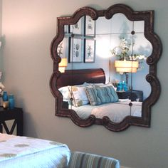 Beautiful Mirrors #designersliving #lifestyle