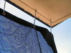 An Easy And Inexpensive Diy Patio Shade To Keep The Sun